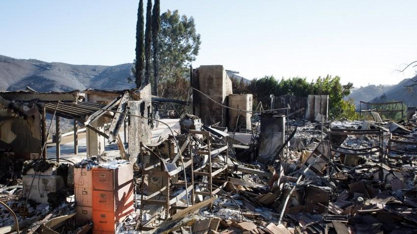 USA CALIFORNIA WOOLSEY FIRE