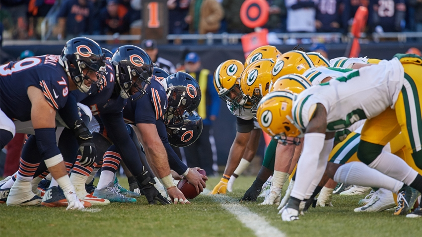BEARS AND PACKERS RIVALRY