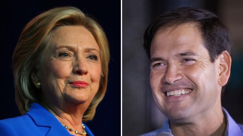 Clinton-Rubio