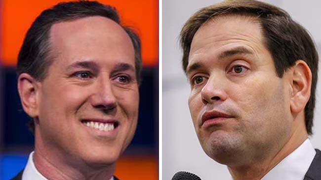Santorum-Rubio