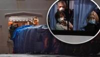 En imágenes: estadounidenses logran salir de crucero tras cuarentena por coronavirus
