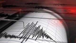 Fotografía de archivo de un sismógrafo.