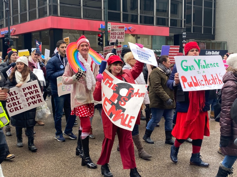 Fotos: Marcha de las Mujeres 2020 en Chicago