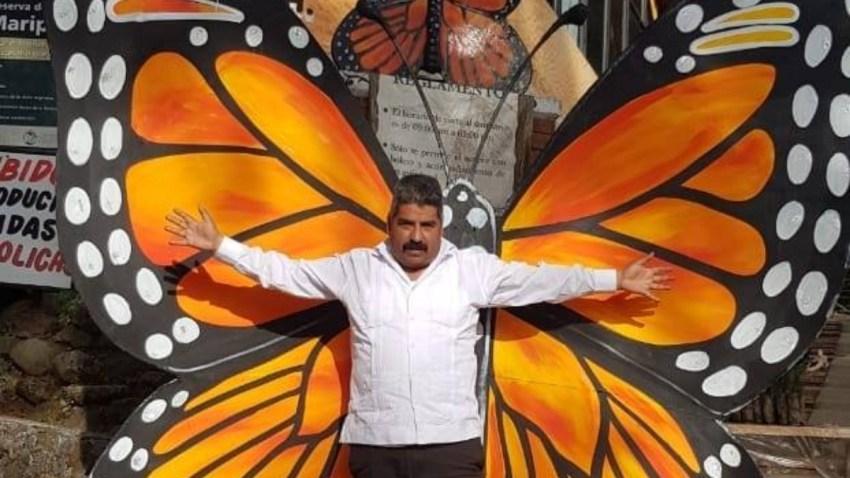 Activista defensor de la mariposa monarca