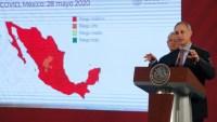 """En máxima alerta por la pandemia, México llega a su """"nueva normalidad"""""""