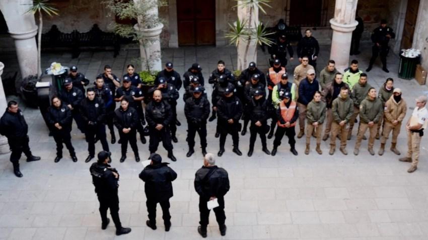 Desarman policías en Jalisco