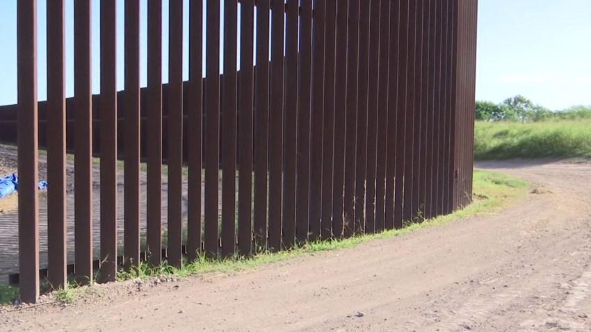 muro fronterizo en condado cameron