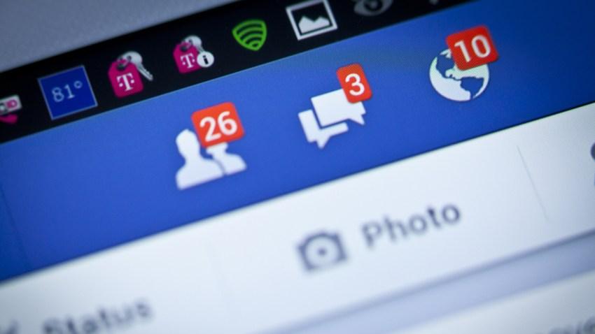 Foto genérica de notificaciones en la plataforma de Facebook.