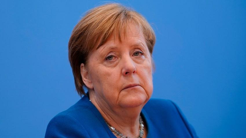 En la foto, la canciller alemana, Angela Merkel.