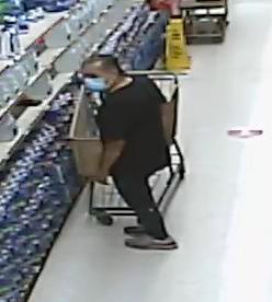 Logan Square: busca sospechoso de robar billetera en supermercado