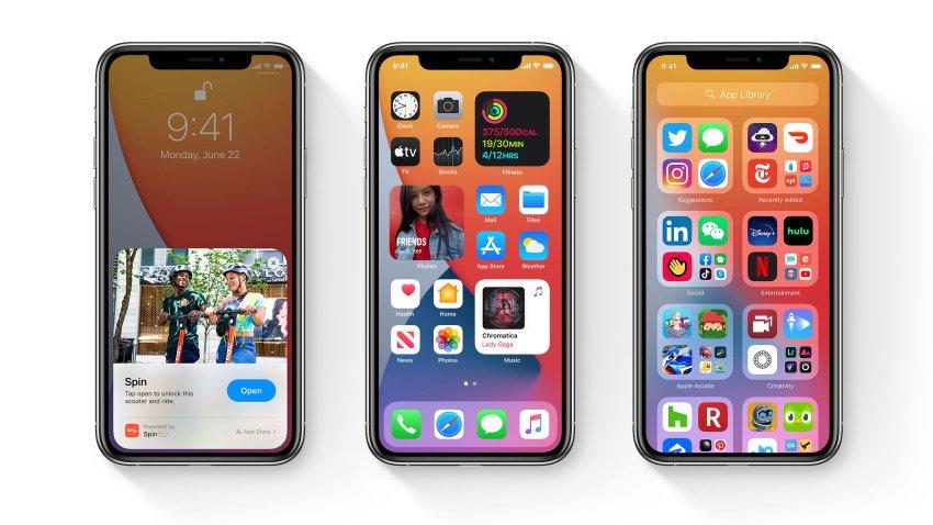 Apple lanza versión beta de sus sistema operado iOS 14 para iPhone