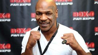 el boxeador Mike Tyson