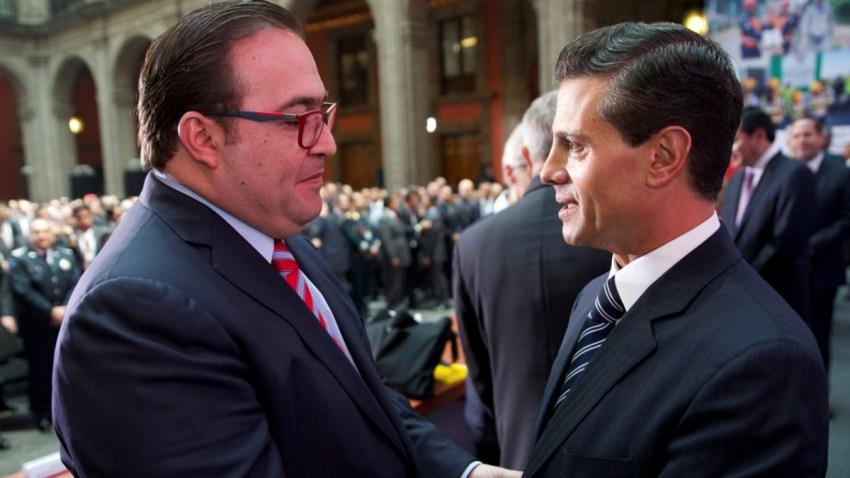 Javier Duarte y expresidente Peña Nieto