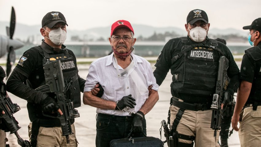 México entrega a un exguerrillero a Guatemala