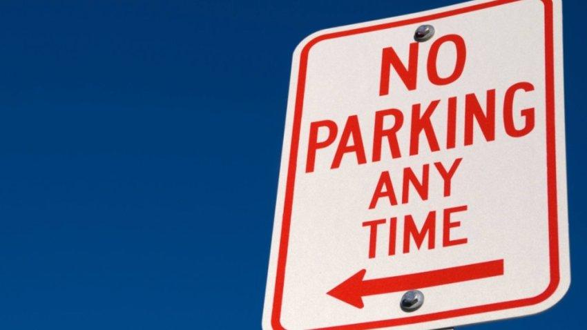 no parking sign generic