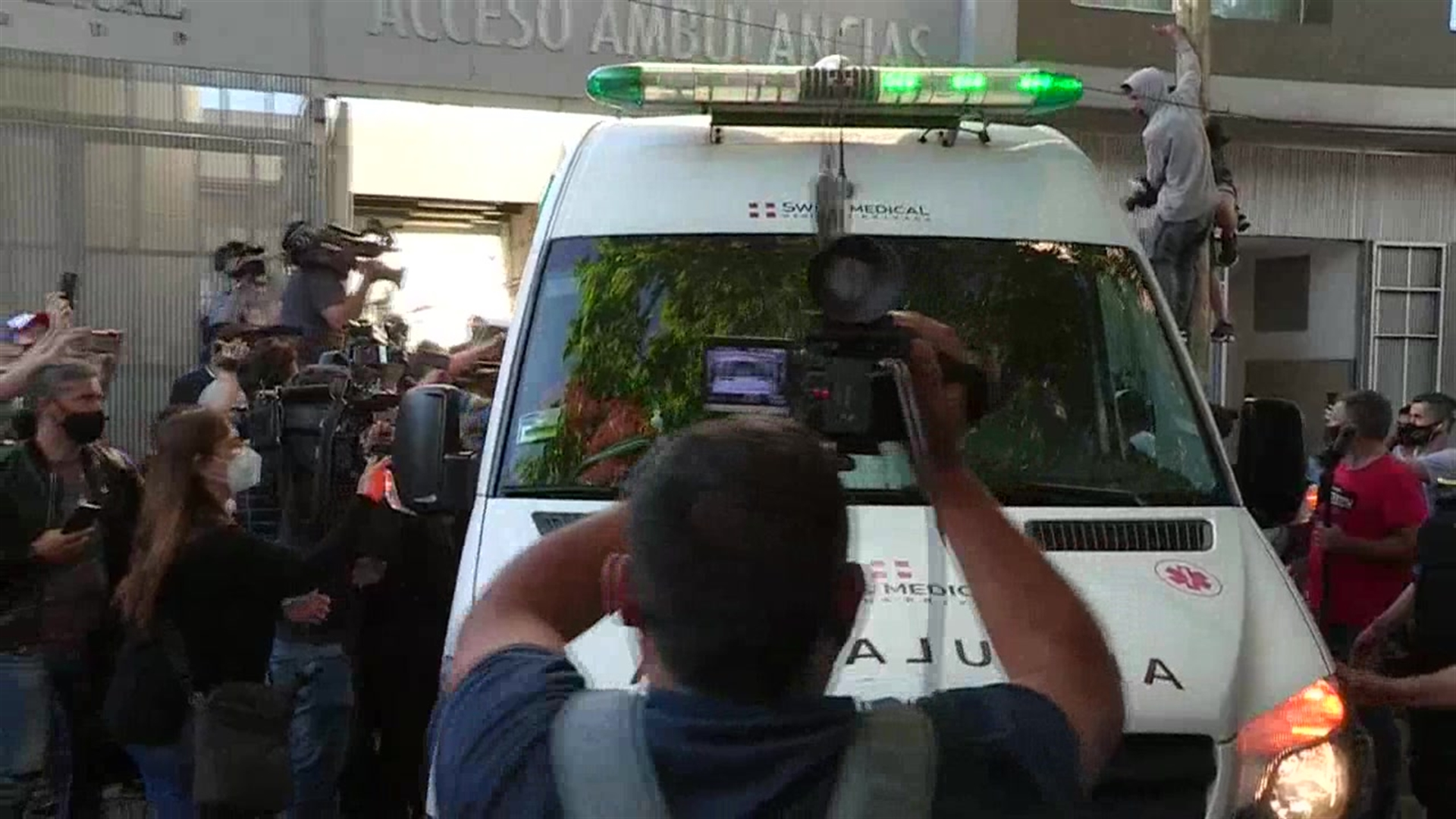Maradona recibe alta hospitalaria – Telemundo Chicago