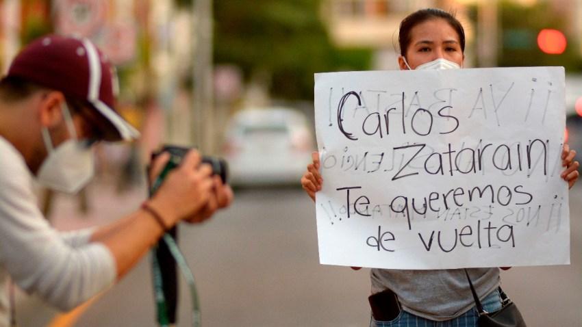 Periodistas protestas por secuestro de colega