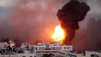 Video: a puros bombazos, Israel derriba edificios enteros en la Franja de Gaza