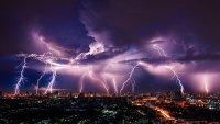 Cuál es la ciudad de EEUU con mayor número de tormentas eléctricas
