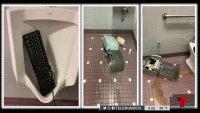Baños vandalizados: llega reto de TikTok a escuelas de Florida Central