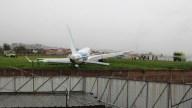 Avión se sale de la pista en Ecuador