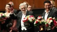 Ovacionan a Plácido Domingo en evento tras acusaciones