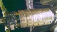 Acoplan nave de carga a Estación Espacial Internacional