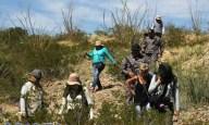 Hallan restos óseos en un valle de Juárez