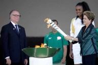 La llama olímpica ya cruza por todo Brasil