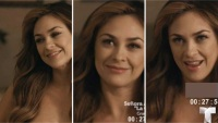 La actriz se deja ver sin inhibiciones en una de la escenas de la nueva serie. Aquí el video.