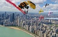 Este año el evento será encabezado por la flota de aviones U.S. Air Force, Blue Angels y los paracaidistas del Ejército de los Estados...