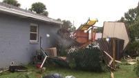 Los efectos de la tormenta tropical Néstor se sintieron este sábado al norte de Florida.