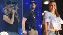 Los artistas ensayan, y revelan detalles previo a Premios Billboard de la Música Latina, que se celebran este jueves por Telemundo (7pm/6c).