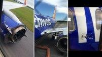 Los 99 pasajeros y cinco tripulantes llegaron a salvo tras un aterrizaje de emergencia en Pensacola, Florida