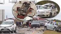 Dos personas murieron en un accidente en Texas, luego que conductor perdiera control de su auto.