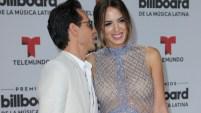 El cantante y su esposa, la modelo Shannon de Lima, desfilaron por la alfombra roja de Premios Billboard de la Música Latina. Aquí las fotos.