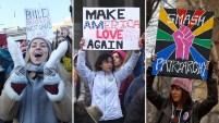 Cientos de miles se congregan en ciudades de EEUU y el mundo en marchas y manifestaciones.