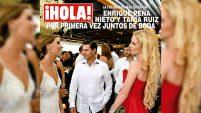 El expresidente mexicano y la modelo Tania Ruiz fueron fotografiados nuevamente en una boda en Acapulco. Para ver el episodio completo de Un Nuevo Día,...