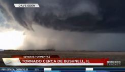Se reportó tornado al sur de Illinois