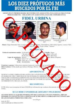 México: capturan a uno de los más buscados del FBI