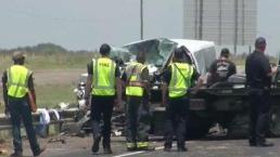 Houston: cinco miembros de una familia mueren en accidente