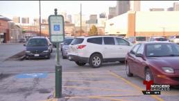 Evite estacionarse sin persmiso en lugares para discapacitados