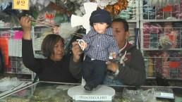 Día de la Candelaria: visten al Niño Dios de huachicolero