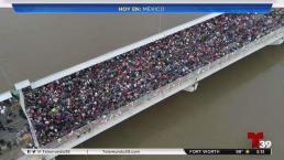 Programa para disminuir entrada de migrantes a México