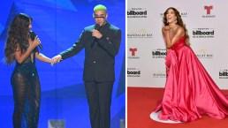 Gaby Espino con un montón de vestidos impactó a sus galanes en Billboard