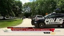 Hallan dos personas muertas en una casa en Bensenville