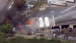 Estalla incendio en planta de gas propano en Gurnee