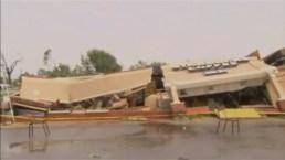 Tornado destructivo pasó por Indiana