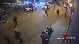 Dan a conocer video de tiroteo mortal de la policía