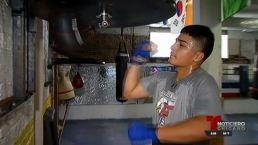 Joven boxeador marca la diferencia en La Villita